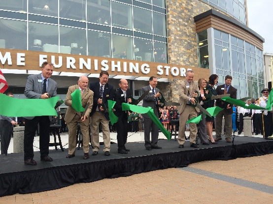 Daily News Nebraska Furniture Makes Opening Official