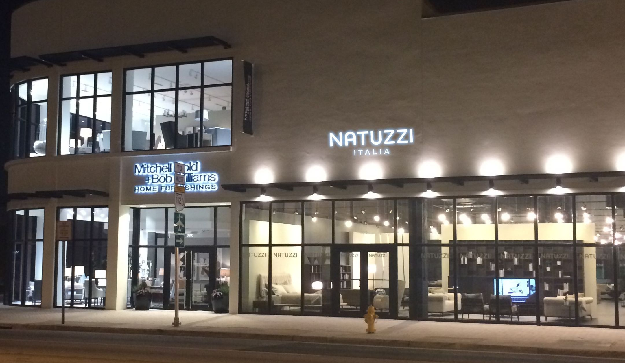 daily news natuzzi italia sets 5th south florida store
