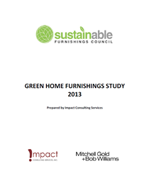Green Home Furnishings Study 2013